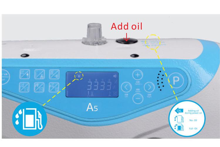 Voice Guide, Oil Alarm